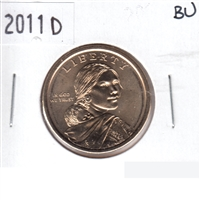 2011 D Native American USA Dollar Brilliant Uncirculated (MS-63)