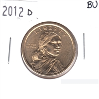 2012 D Native American USA Dollar Brilliant Uncirculated (MS-63)