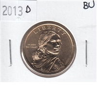 2013 D Native American USA Dollar Brilliant Uncirculated (MS-63)