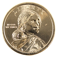 2016 D Native American USA Dollar Brilliant Uncirculated (MS-63)