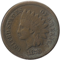 1876 USA Cent Very Fine (VF-20)