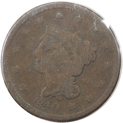 1840 Small Date USA Cent G-VG (G-6)