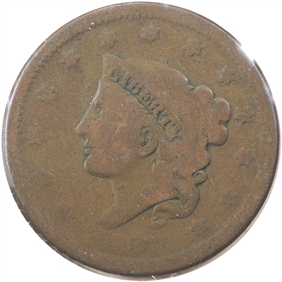 1837 Small Letters USA Cent G-VG (G-6)