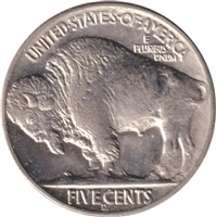 1936 D USA Nickel Brilliant Uncirculated (MS-63)