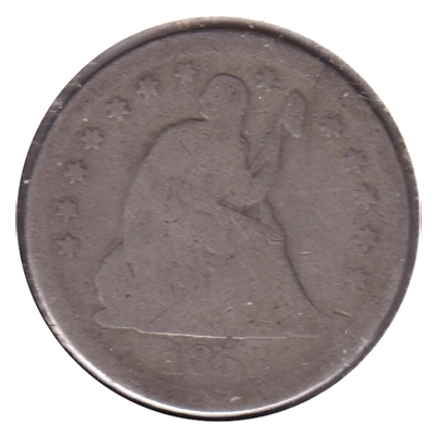 1856 USA Quarter Good (G-4)