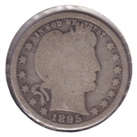 1895 USA Quarter Good (G-4)