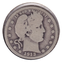1913 D USA Quarter Good (G-4)