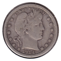 1914 USA Quarter Very Fine (VF-20)