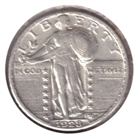1928 USA Quarter EF-AU (EF-45) $