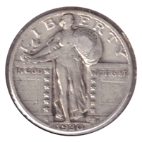 1930 USA Quarter VF-EF (VF-30)