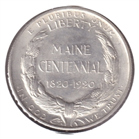 1920 Maine Centennial USA Half Dollar Brilliant Uncirculated (MS-63) $