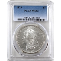 1879 USA Dollar PCGS Certified MS-62