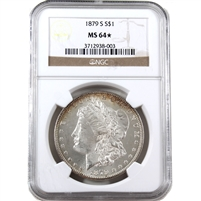 1879 S USA Dollar NGC Certified MS-64 (Star)