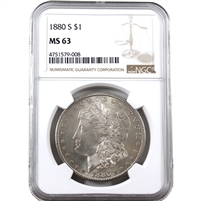 1880 S USA Dollar NGC Certified MS-63