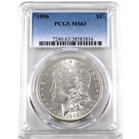 1896 USA Dollar PCGS Certified MS-63