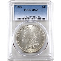 1986 USA Dollar PCGS Certified MS-63