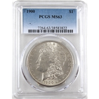 1900 USA Dollar PCGS Certified MS-63