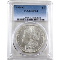 1904 USA Dollar PCGS Certified MS-64