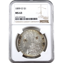 1899 O USA Dollar NGC Certified MS-63 (Spots)