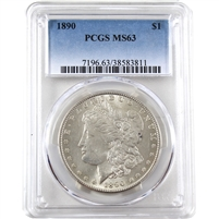 1890 USA Dollar PCGS Certified MS-63