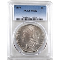 1880 USA Dollar PCGS Certified MS-62