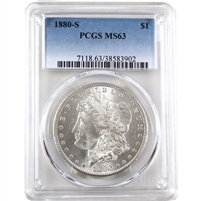 1880 S USA Dollar PCGS Certified MS-63