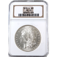 1879 S USA Dollar NGC Certified MS-65