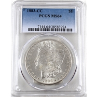 1882 CC USA Dollar PCGS Certified MS-64 (PL)