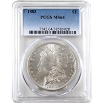 1883 USA Dollar PCGS Certified MS-64