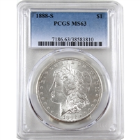 1888 S USA Dollar PCGS Certified MS-63