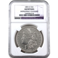 1892 O USA Dollar NGC Certified AU Details (cleaned)