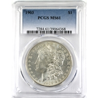 1903 USA Dollar PCGS Certified MS-61