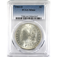 1904O USA Dollar PCGS Certified MS-60 Detail (Scratched)