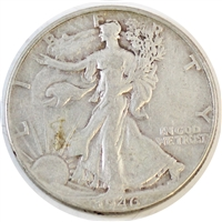 1946 USA Half Dollar Circulated