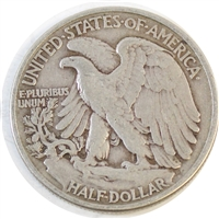 1947 USA Half Dollar Circulated