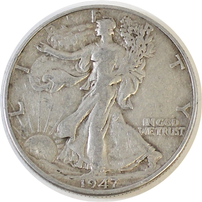 1947 USA Half Dollar VF-EF (VF-30)