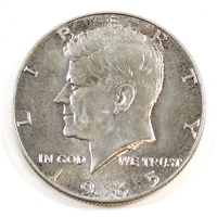 1965 USA Half Dollar Circulated