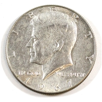 1967 USA Half Dollar Circulated