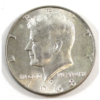 1968 D USA Half Dollar Circulated