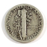 1936 D USA Dime Circulated