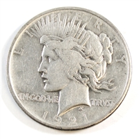 1921 Peace USA Dollar Very Fine (VF-20)