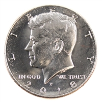 2018 P USA Kennedy Half Dollar Brilliant Uncirculated (MS-63)
