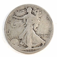 1917 USA Half Dollar Circulated