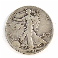 1941 D USA Half Dollar Circulated