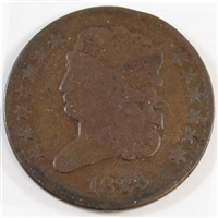 1825 USA Half Cent Very Good (VG-8)