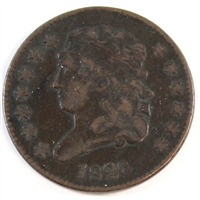 1826 USA Half Cent VF-EF (VF-30)