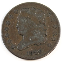 1829 USA Half Cent Very Good (VG-8) $