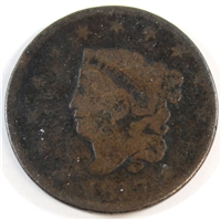 1817 13 Stars USA Cent About Good (AG-3)