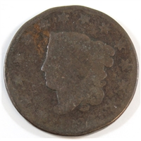 1824 USA Cent About Good (AG-3)