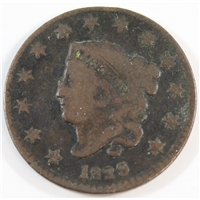 1829 Medium Letters USA Cent F-VF (F-15)